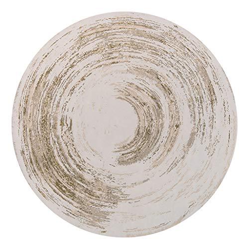 alfombras redondas para sala de estar Estera de yoga antideslizante Alfombras suaves resistentes Alfombras redondas fáciles de limpiar Moda nórdica Moderno Conciso para Sala Pasillo Guardarropa pin