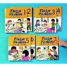 Finger Phonics Books 1-7, Jolly Phonics (Set of 7)