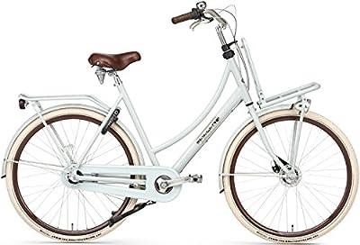 28 Zoll Damen Holland Fahrrad Popal Daily Dutch Prestige P28020N3, Farbe:shadow green