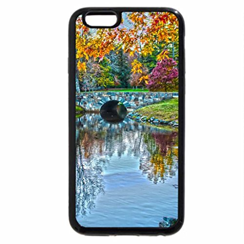 iPhone 6S / iPhone 6 Case (Black) Incredible Autumn Lake Reflections
