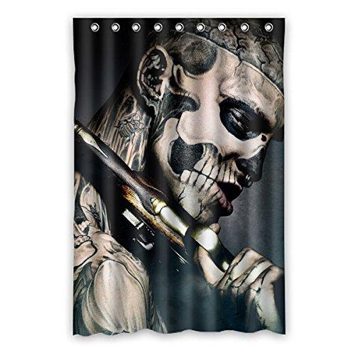 """120 cm x 183 cm (48 """"x72"""") Bagno Tenda della doccia, Hip-hop di personalità di modo della testa dell'uomo muffa tende Bagno Doccia, WC poliestere tende."""