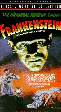 Preisvergleich Produktbild Frankenstein [VHS]