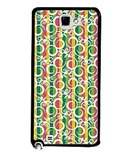 PrintVisa Designer Back Case Cover for Samsung Galaxy Note N7000 :: Samsung Galaxy Note I9220 :: Samsung Galaxy Note 1 :: Samsung Galaxy Note Gt-N7000 (Illustration Celebration Rainbow Happiness Decoration Decorative Beautiful Ornamental)
