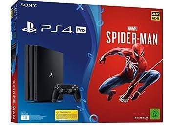 Sony PS4 1TB PRO + Spider-Man Bundle