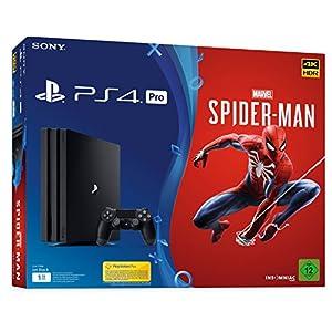 PlayStation 4 Pro – Konsole (1TB) Marvel's Spider-Man Bundle inkl. 1 DualShock 4 Controller