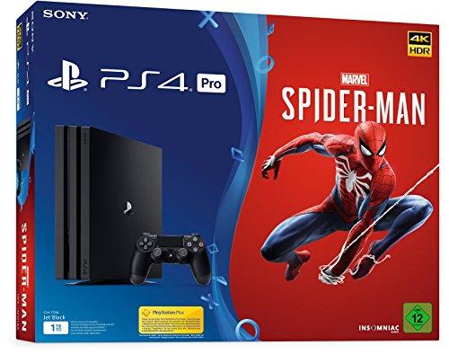 PlayStation 4 Pro - Konsole (1TB) Marvel's Spider-Man Bundle inkl. 1 DualShock 4 Controller