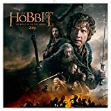 The Hobbit Wandkalender 2019 - Der Hobbit Trilogie Kalender 30x30cm