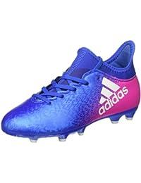 adidas X 16.3 Fg J, Zapatillas de Fútbol Unisex Niños
