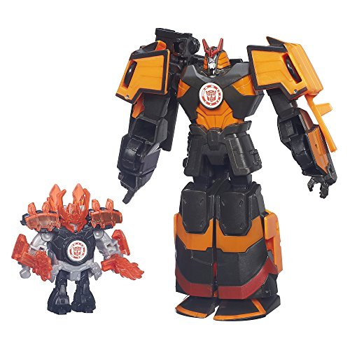 Transformers Robots in Disguise Mini-Con Autobot Drift and Jetstorm Figures by TRANSFORMERS