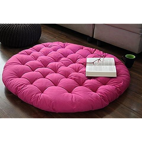 Store Indya, Papasan Ronda Salon silla del asiento de la almohadilla del amortiguador para la comodidad maxima de 38 pulgadas de color
