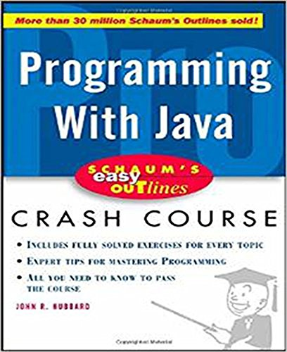 Pdf Schaum S Easy Outline Of Programming With Java Schaum S Easy Outlines Download Corneillsanjay