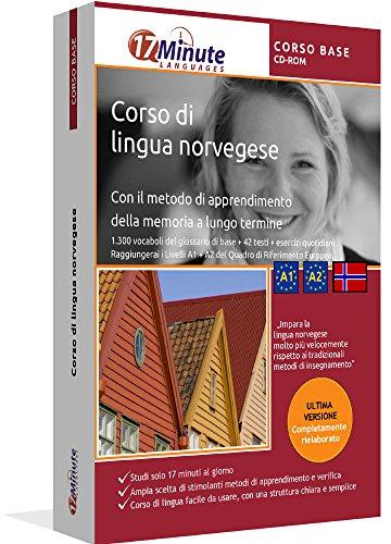 Corso di norvegese per principanti (A1/A2): Software per Windows e Linux. Imparare la lingua norvegese con il metodo della memoria a lungo termine
