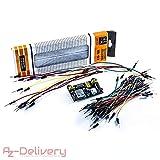 Best Breadboards - AZDelivery Kit Breadboard MB 102 - Breadboard 830 Review