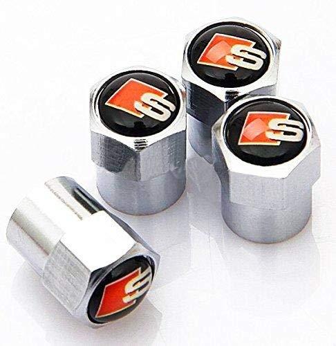 Chrome Line (S Line Chrome Tyre Dust Caps)