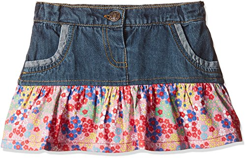 Donuts Baby Girls' Skirt (268551170_NAVY_06M_CF-16)