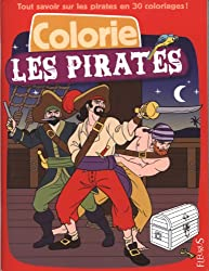 Colorie les pirates
