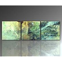 Abstrakte Bilder Auf Leinwand suchergebnis auf amazon de für moderne kunst abstrakte bilder gruen