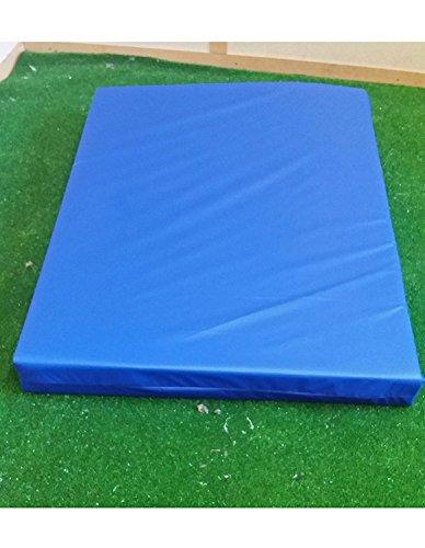 Colchoneta para gimnasia KosiPad Deluxe, para jugar, gimnasios, guarderías, entrenamiento seguro, suave, azul, Medim