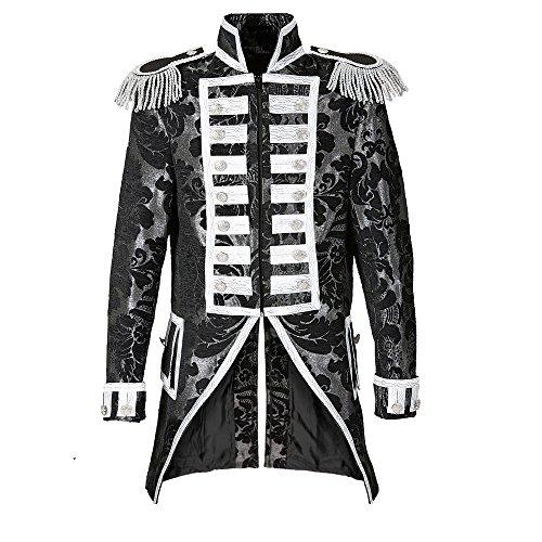 Widmann 59313 - Damen Frack Jaquard Parade kostüm, L, silver