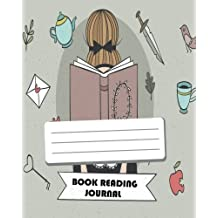 Book Read Journal : Reading Log Gift For Book Lovers - Reading Journal - 8x10 and 110 Pages - Love Book Cover - For Record a Book Reading Vol.1: Reading Log