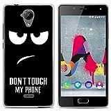 Easbuy Handy Hülle Soft Silikon Case Etui Tasche für Wiko U Feel Lite Smartphone Cover Handytasche Handyhülle Schutzhülle