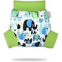 Pull Up Cover Petit Lulu | Taglia L | Con Bordi In Pile | Riutilizzabile e lavabile | Pannolini lavabili | Pannolino di…