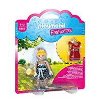 Playmobil 6883 Fifties Fashion Girl with Changeable Clothing