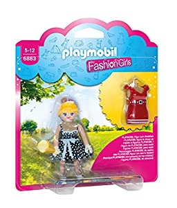 Playmobil Tienda de Moda- Fifties Fashion Girl Figura con Accesorios, Multicolor (6883)