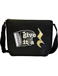 Accordion Give It A Rest - Sheet Music Document Bag Musik Notentasche MusicaliTee