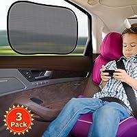 La scelta perfetta per Voi e la Vostra famiglia per godere di fresco e comfort in auto. -Composto da 2 strati. Blocchi di strato di poliestere Mesh la maggior parte dei raggi UV. Lo strato statico dell'attaccatura rende la tonalità della fin...