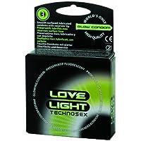 Leucht-Kondome 'Love Light' 3 St. preisvergleich bei billige-tabletten.eu