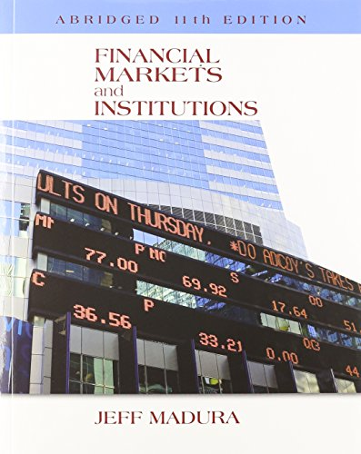 financial markets and institutions by jeff madura free download pdf