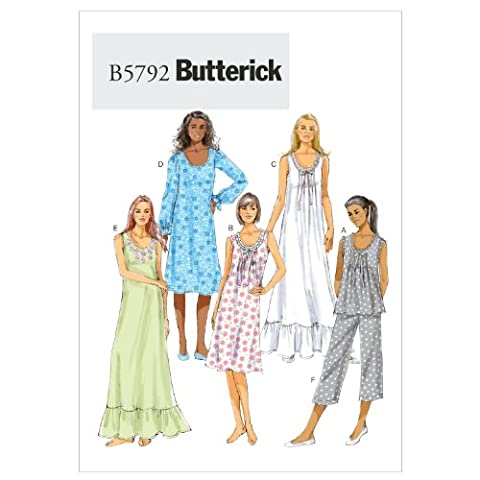Lot Patron Couture - Butterick Patterns b5792 large-extra-large-xxl ZZ Patrons de haut,