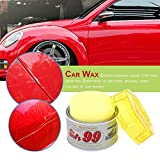 Swiftswan 430g Soft Paste Car Wax Round Polishing Wax Car Care Wash Protect Paint Repair(Color:Gray)
