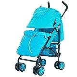 MUMA Bambino Passeggino Pieghevole Traspirante Quattro Round Bambino Auto Ombrello ( Colore : Blu )
