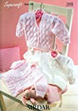 Sirdar 3102 Supersoft Baby Double Knitting Pattern, Cardigans, by Sirdar