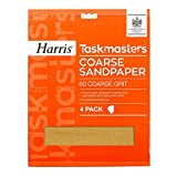 LG Harris Coarse Sandpaper Pack of 4