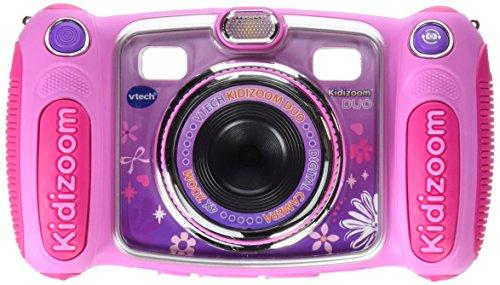Kinderkamera - VTech 80-170894 - Kidizoom Duo mit Tragetasche, Digitalkamera, pink -