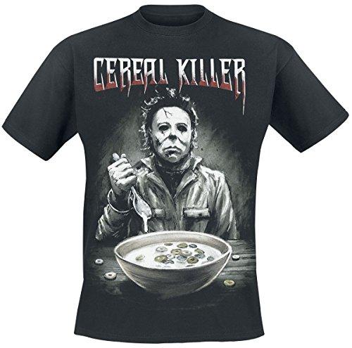 Halloween Cereal Killer T-Shirt Schwarz S