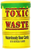 #3: Candy Dynamics Toxic Waste Hazardously Sour Candy Bottle, 42g