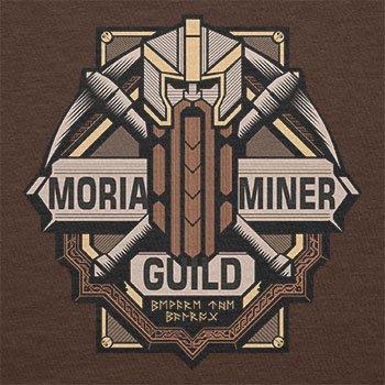 TEXLAB - Moria Miner Guild - Herren T-Shirt Braun