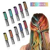 Best Colores para el cabello - Peines de Tiza de Colores para el Pelo Review