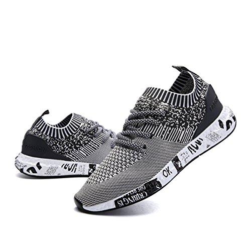 hot sale online 3ffca 4f2ee Gracosy Uomo Scarpe da Corsa Sport, Scarpe da Ginnastica Sneakers  Respirabile Mesh Basse Sportive Outdoor ...