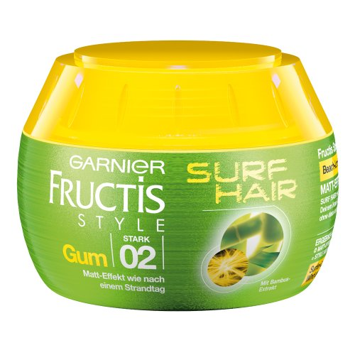 Garnier Fructis Style - Gel modellante Surf Hair, 3 pz. (3 x 150 ml)