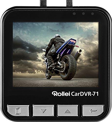 80e8a37677 Rollei Dashcam CarDVR-71 - Cámara de Vídeo para coche, función loop