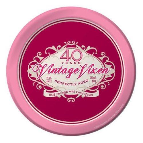 Vintage vixen-409Zoll Teller (8Stück)