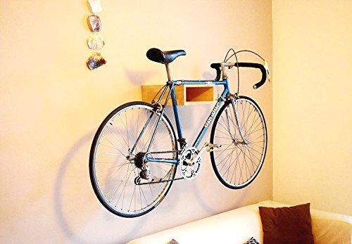 Santa Fe - Fahrradständer Wand / Fahrrad Regal / Holz Fahrrad Aufhänger (Regal Santa)