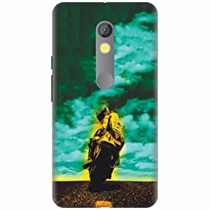 Moto X Play Printland Back Cover Printed Hard Plastic-Multicolor