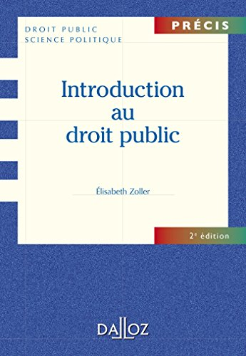 Introduction au droit public - 2e éd.