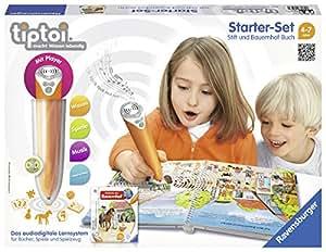 Ravensburger 00507 – tiptoi Starter-Set mit Stift und Buch Wieso? Weshalb? Warum? Entdecke den Bauernhof